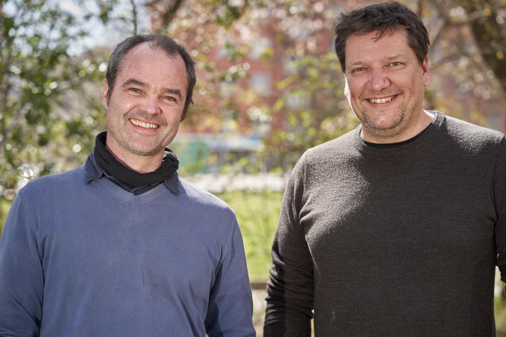 Philip Taxböck und Elmar Matt